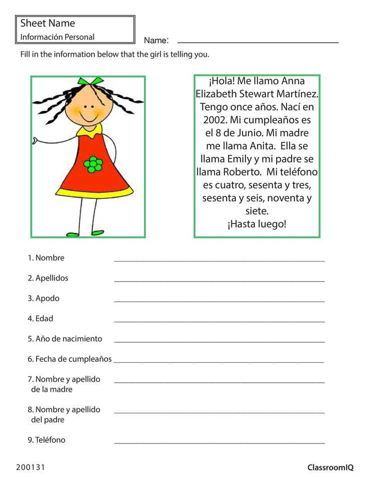 Printable Spanish Worksheets and 27 Best Spanish Worksheets Level 1 Images On Pinterest
