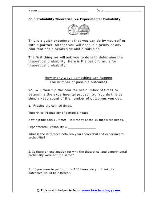Probability theory Worksheet 1 or Probability theory Worksheet 1 Unique theoretical Probability