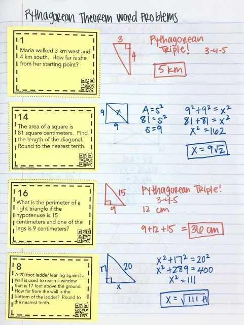 Pythagorean theorem Coloring Worksheet Also 94 Best Pythagorean theorem Images On Pinterest