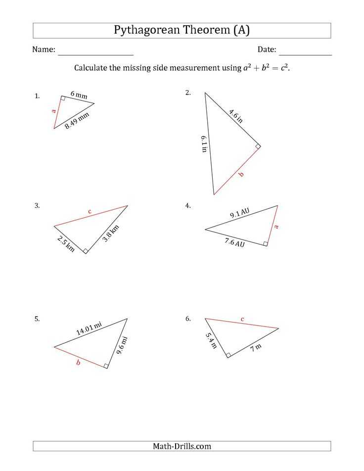 Pythagorean theorem Review Worksheet with 916 Besten Geometria Bilder Auf Pinterest