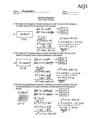 Quadratic formula Worksheet with Answers Pdf Also Name Date Precalculus Worksheet — Parametric Equations 1