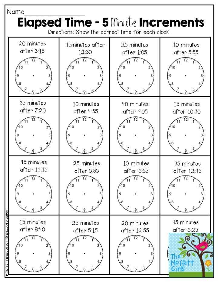 Reading Time Worksheets Along with Elapsed Time 5 Minute Increments there are so Many Activities In