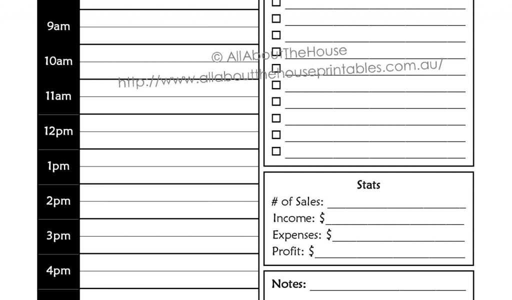 Schedule C Worksheet and Schedule C Expenses Spreadsheet or Direct Sales Daily Planner Pdf