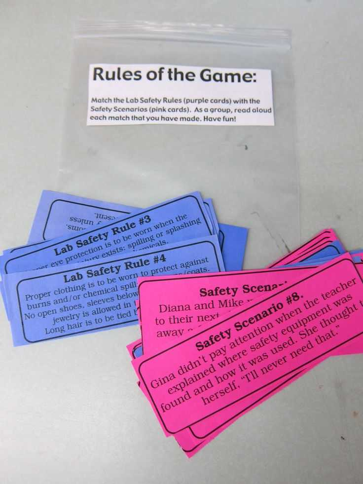 Science Lab Safety Worksheet or 22 Best Science Classroom Lab Safety Images On Pinterest