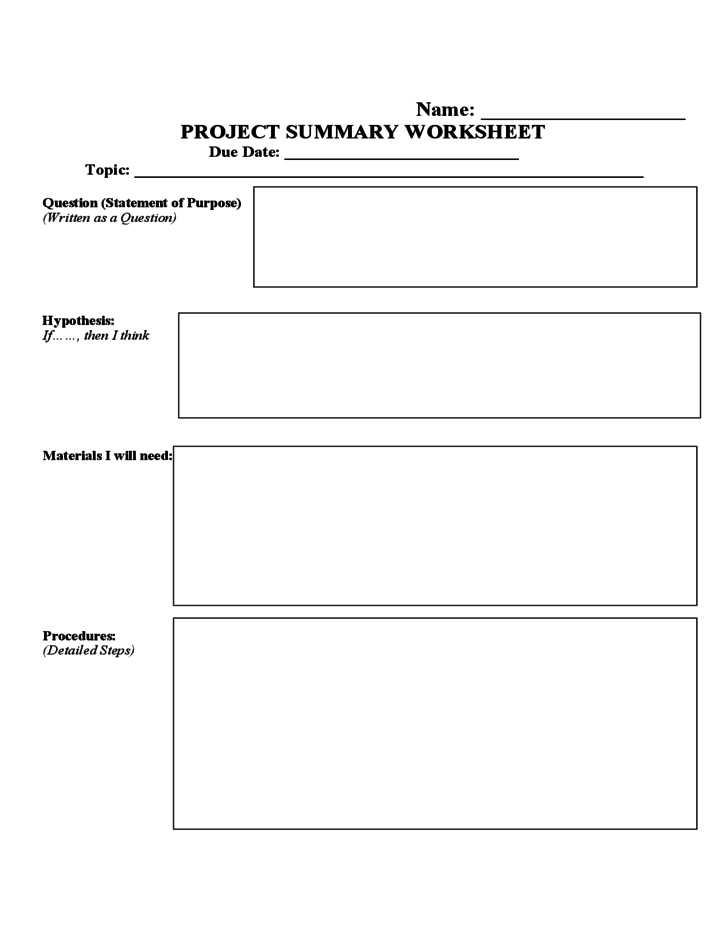 Science Project Worksheet with Resume 44 Lovely Science Fair Template Hd Wallpaper Science