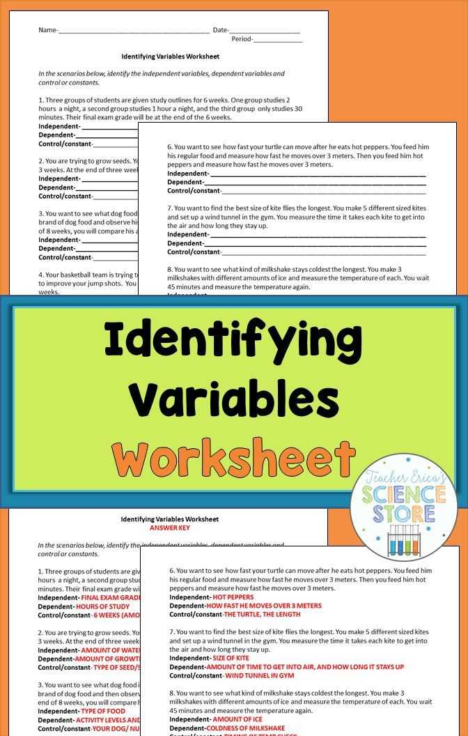 Scientific Method Review Identifying Variables Worksheet as Well as 215 Best Introduction to Science Images On Pinterest