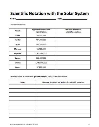 Scientific Notation Practice Worksheet and 25 Best Exponents Scientific Notation Images On Pinterest