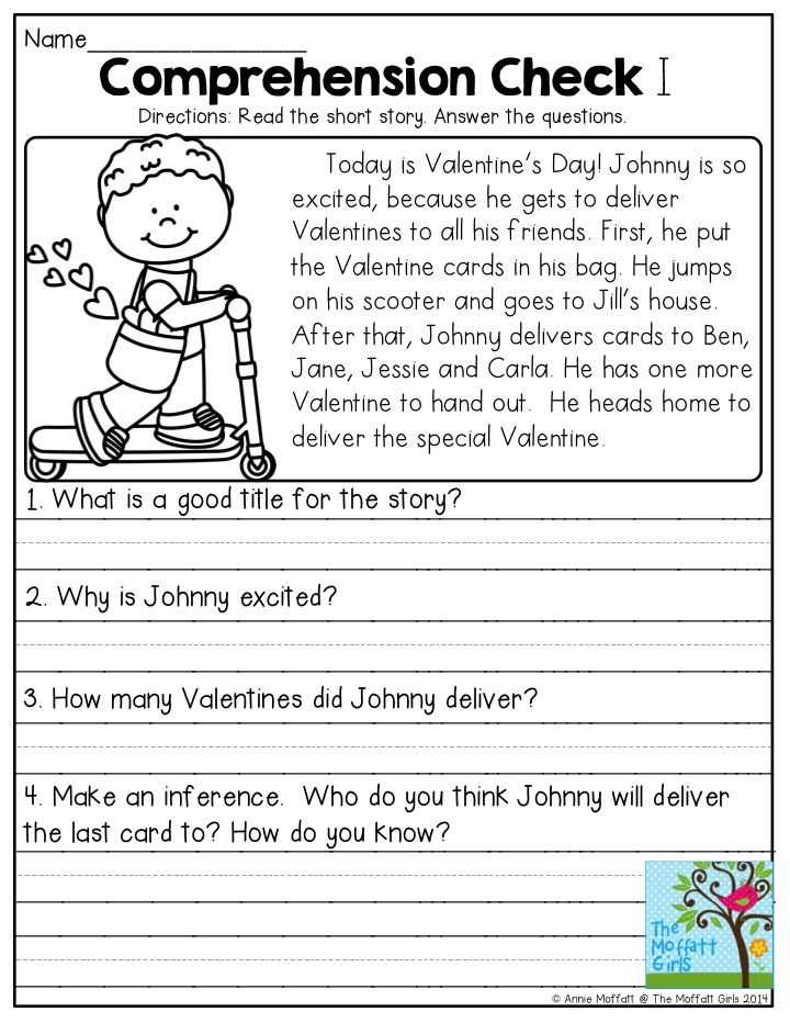 Second Grade Reading Comprehension Worksheets and 527 Best Reading Prehension Images On Pinterest