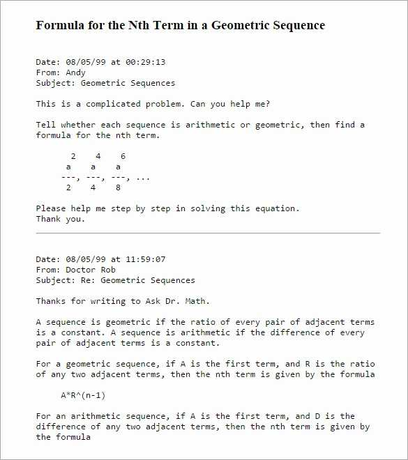 Sequences and Series Worksheet Answers Also Arithmetic Sequence Word Problems Worksheet with Answers Awesome Sum