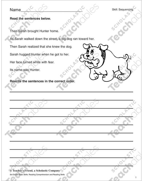 Sequencing the Steps Of Labor Worksheet Answers or Sequencing Grade 4 Collection