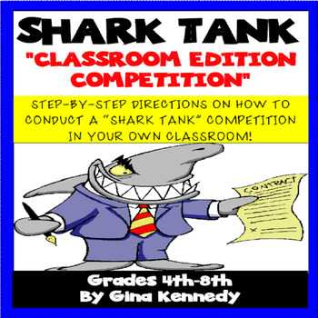 Shark Tank Worksheet Pdf together with Gifted and Talented Projects Resources & Lesson Plans