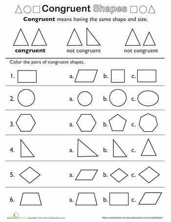 Similar and Congruent Figures Worksheet Along with 14 Best 2de Ljr Congruentie Images On Pinterest