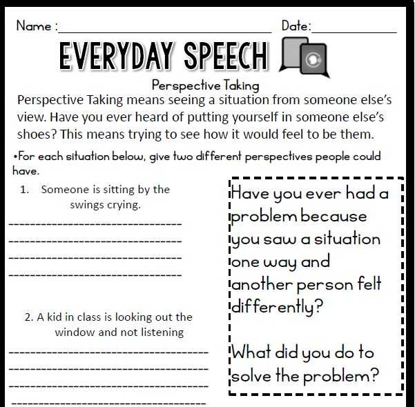 Social Skills Scenarios Worksheets Along with 18 Best social Skills Images On Pinterest