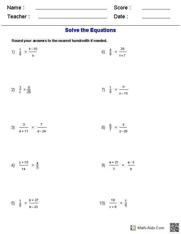 Solving Equations with Variables On Both Sides Worksheet 8th Grade Also 40 New Stock solving Equations with Variables Both Sides