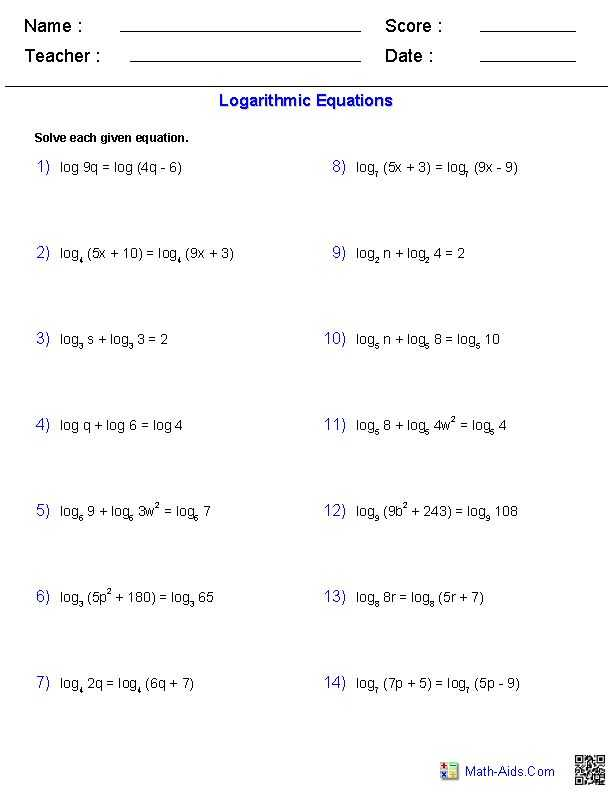 Solving Log Equations Worksheet Key Along with 50 Best Math Log Et Expo Images On Pinterest