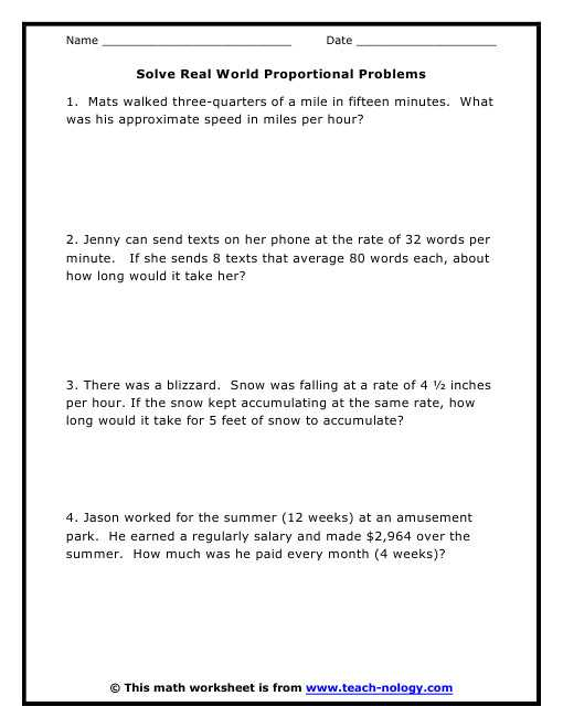 Solving Proportions Word Problems Worksheet Also Proportions Word Problems Worksheet Gallery Worksheet Math for Kids