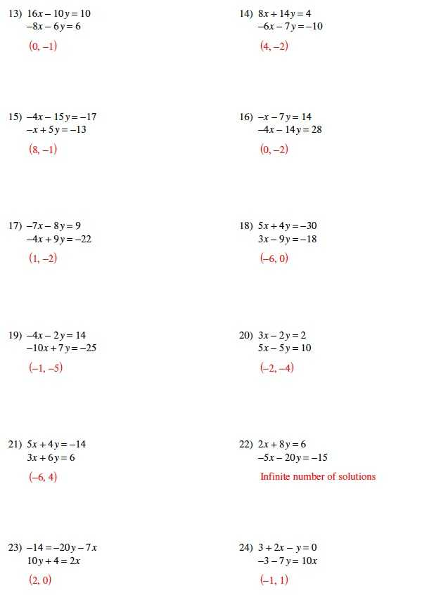 Solving Systems by Elimination Worksheet together with Worksheets Wallpapers 44 Best solving Systems Equations by