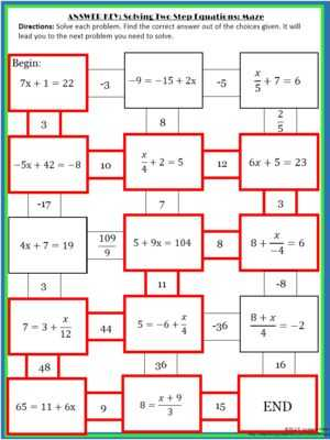 Solving Two Step Equations Worksheet Answers Also 48 Best solving Equations Images On Pinterest