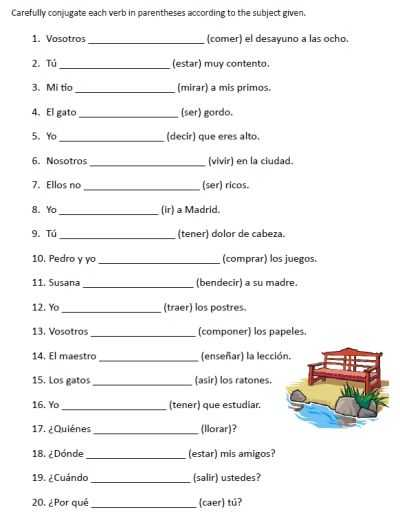 Spanish 1 Worksheets with Activity 2 Spanish Prepositions
