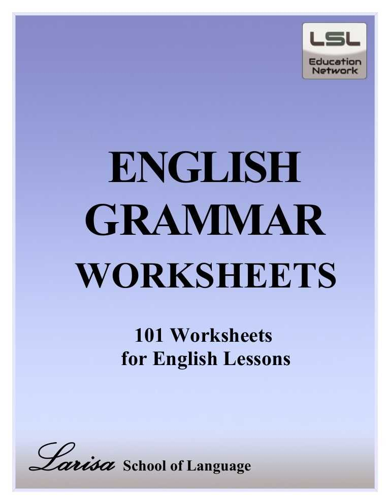 Spanish Worksheets Pdf as Well as Free Pdf English Grammar Worksheets Contains 101 Worksheets