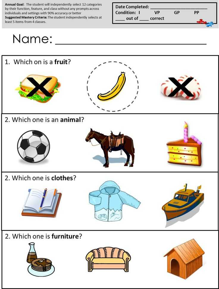 Speech Language Pathology Worksheets with 14 Best Autism Worksheets Receptive Language Images On Pinterest