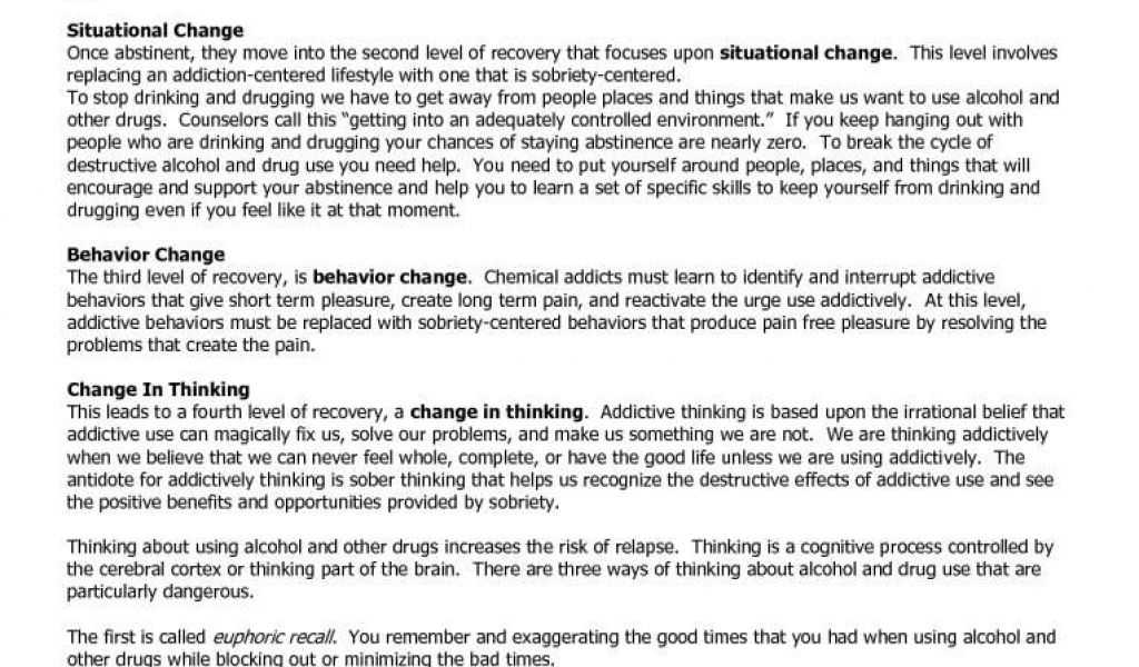 Substance Abuse Worksheets Pdf with Recovery Worksheets Substance Abuse with Gorski Relapse Prevention