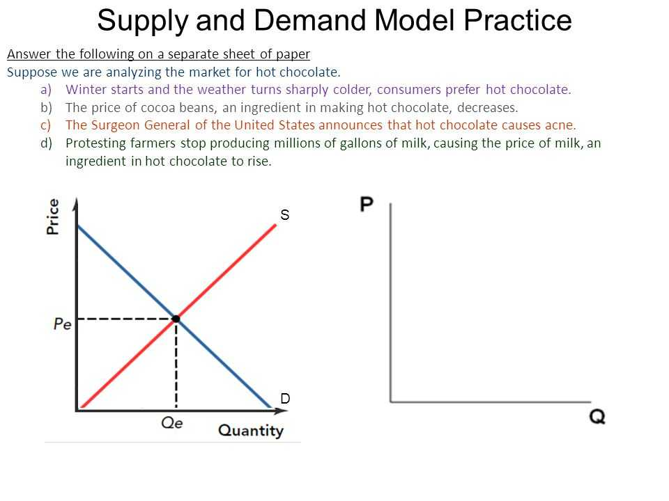 Supply and Demand Worksheet Answer Key Along with Increases and Decrease In Demand Ppt Video Online