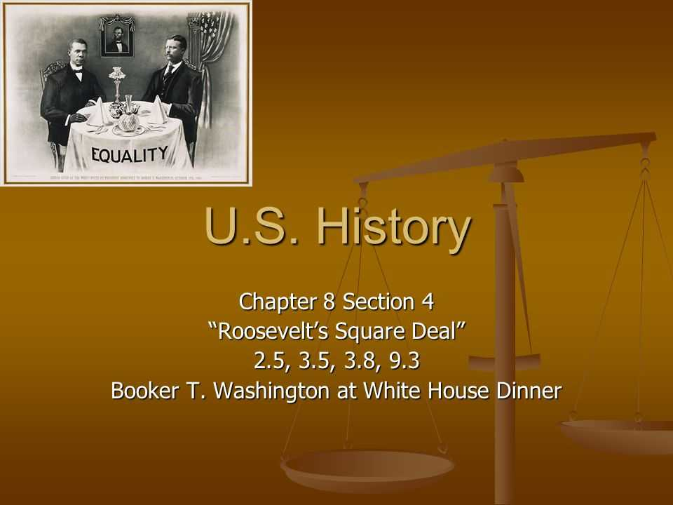 "Teddy Roosevelt Square Deal Worksheet and U S History Chapter 8 Section 4 ""roosevelt S Square Deal"" Ppt"