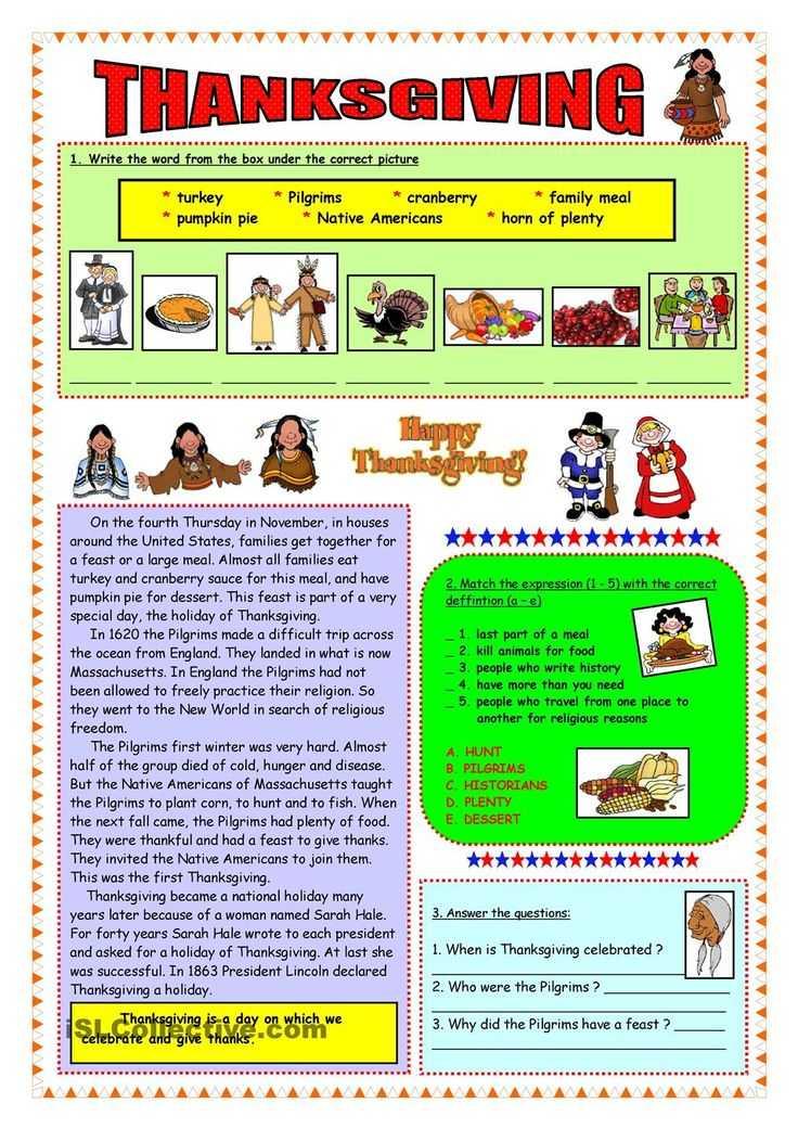 Thanksgiving Reading Comprehension Worksheets or 26 Best Thanksgiving Images On Pinterest