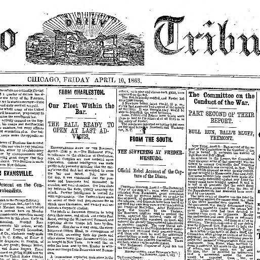 The Carolina Charter Of 1663 Worksheet Answers with Chicago Daily Tribune [volume] Chicago Ill 1860 1864 April 10