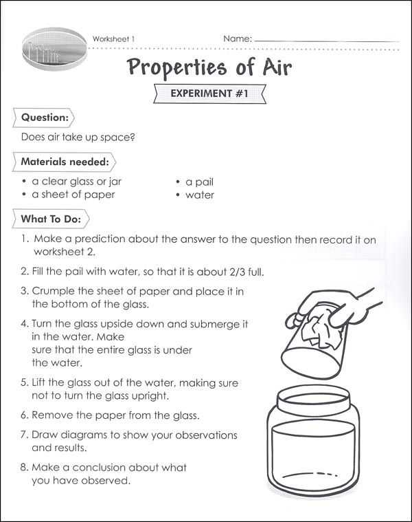 The Nature Of Science Worksheet Answers together with Properties Of Air Worksheet Class Pinterest