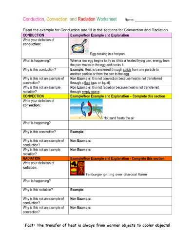 Thermal Energy Transfer Worksheet Also 15 Best Energy Transfer Images On Pinterest
