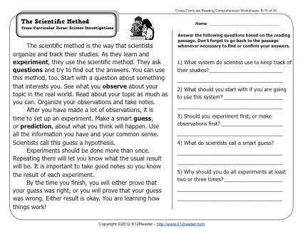 Third Grade Science Worksheets Also 2nd Grade Worksheets Science Worksheets for All