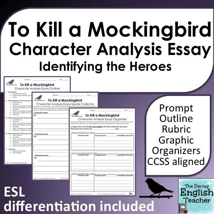 To Kill A Mockingbird Character Worksheet and 113 Best Teaching to Kill A Mockingbird Images On Pinterest