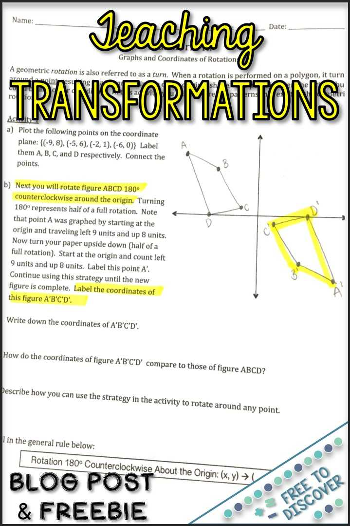 Transformations Review Worksheet and Worksheets 46 Re Mendations Transformations Worksheet Hd Wallpaper