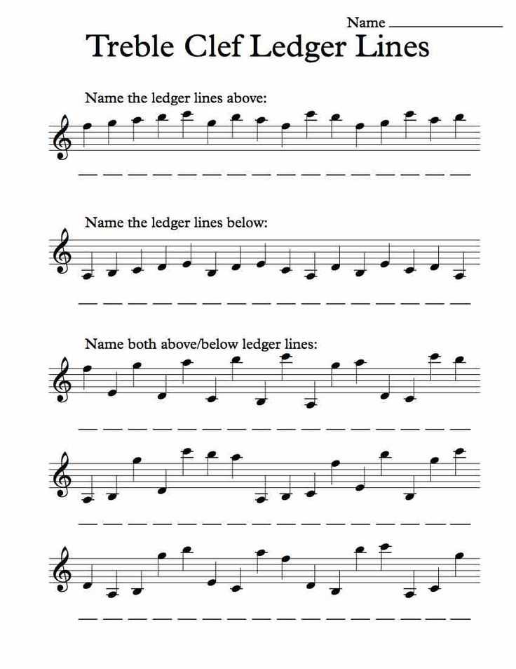 Treble Clef Worksheets with 33 Best Music Worksheets Images On Pinterest