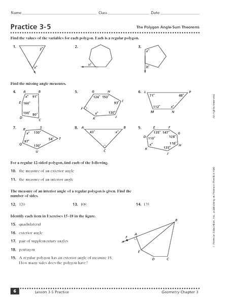 Triangle Interior Angle Worksheet Answers and Triangle Angle Sum theorem Worksheet Doc Kidz Activities