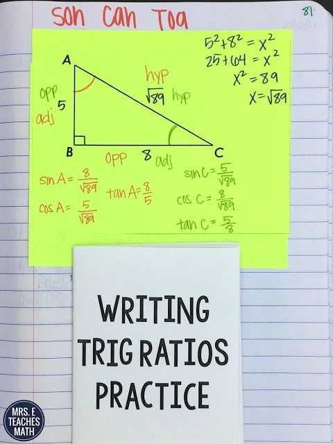 Trigonometric Ratios Worksheet Answers as Well as 271 Best Maths Trigonometry Images On Pinterest