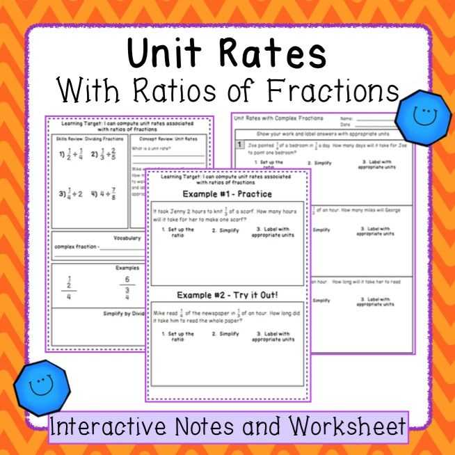 Unit Rate Worksheet 7th Grade Along with 11 Best Grade 7 Unit 4 Proportional Relationships Images On