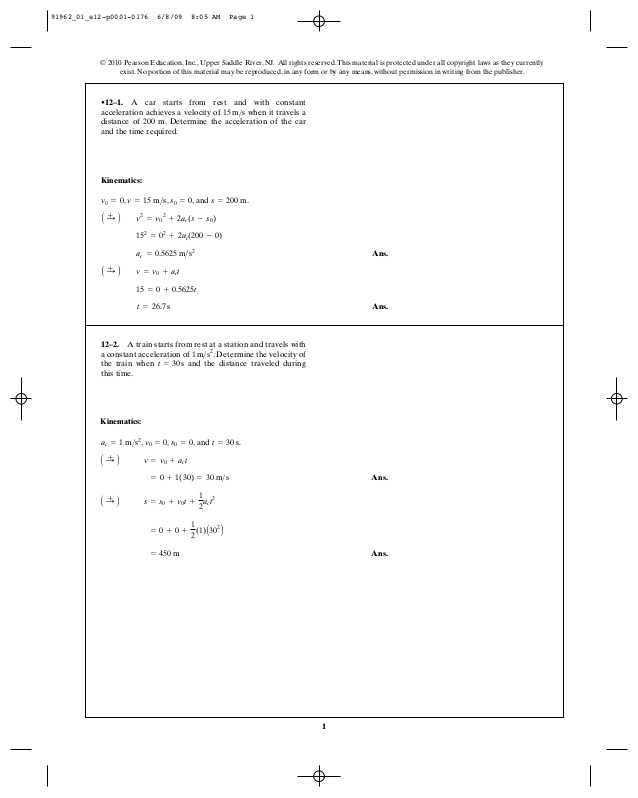 Velocity Acceleration Worksheets Along with Met 301 Chapter 12