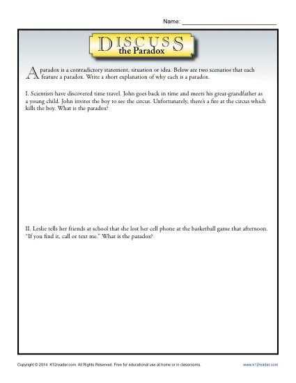 Warm Up to Paradox Worksheet Answers as Well as 161 Best Figurative Language Images On Pinterest