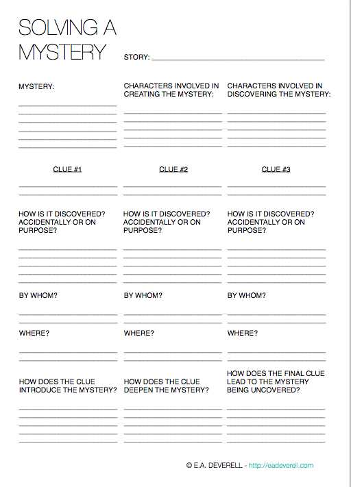 Will Preparation Worksheet Along with solving A Mystery Writing Worksheet Wednesday