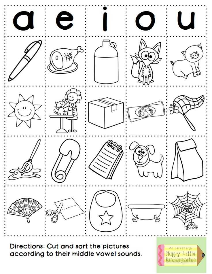 Words with the Same Vowel sound Worksheets Along with 145 Best Vowels Word Families Chunks Images On Pinterest