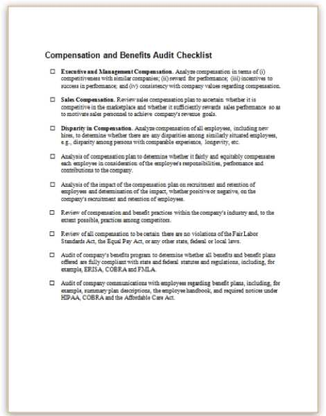 Workers Comp Audit Worksheet together with Pensation and Benefits 1