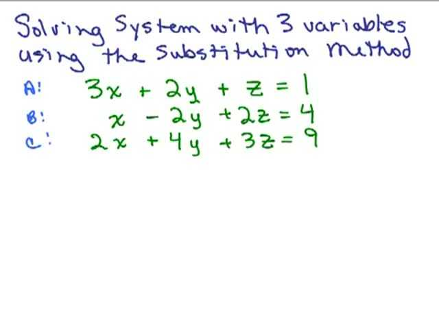 Worksheet 3 Systems Of Equations Substitution and Elimination Answers as Well as Worksheets 49 Awesome solving Systems Equations by Substitution