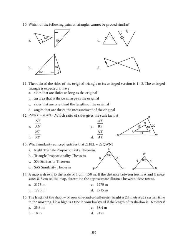 Writing Ratios In 3 Different Ways Worksheets with Grade 9 Mathematics Module 6 Similarity