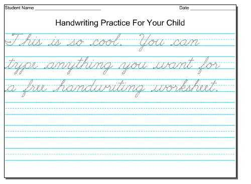 Writing Sentences Worksheets Pdf as Well as Cursive Writing Worksheets for 3rd Graders Worksheets for All