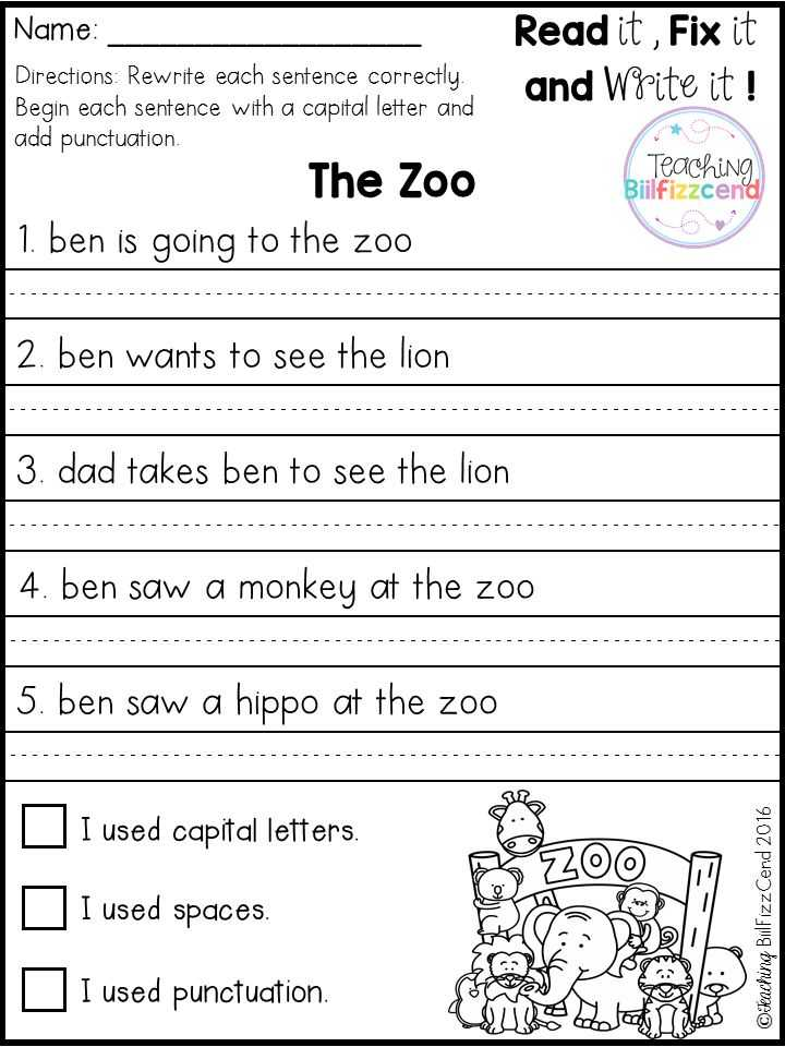 Writing Sentences Worksheets Pdf together with 363 Best Writing In Kindergarten Images On Pinterest
