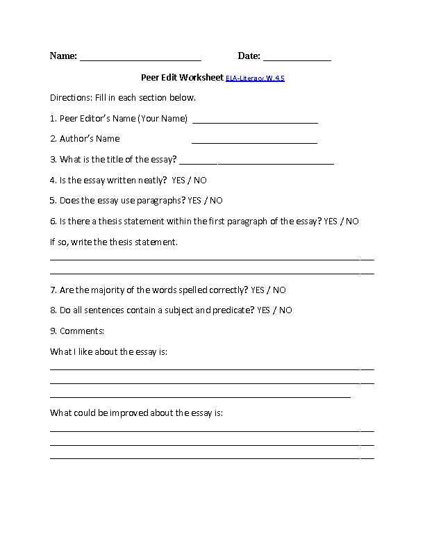 2nd Grade Writing Worksheets Pdf Along with Mon Core Worksheets Ela Kidz Activities