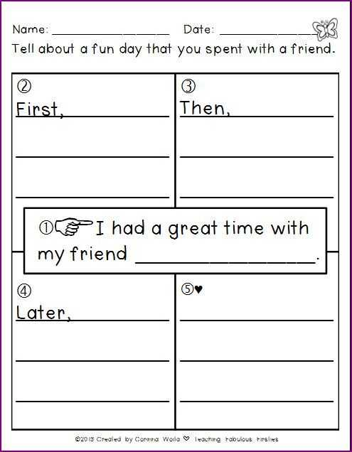 2nd Grade Writing Worksheets Pdf as Well as 2524 Best First Grade Writing Images On Pinterest